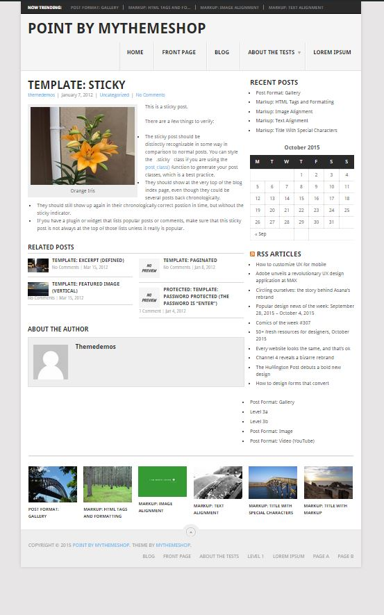 Point Post Page by MyThemeShop