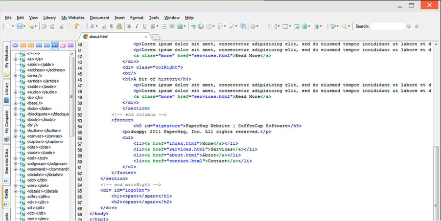 The Best HTML Editor